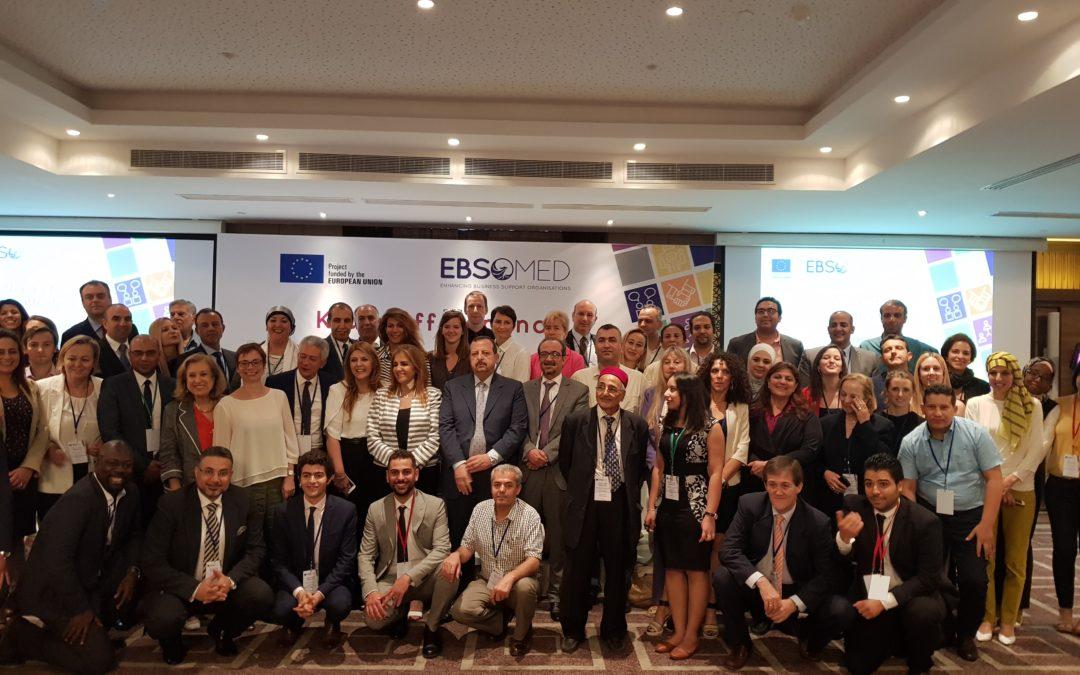 Presentata la Summer School sulla Cooperazione Euromediterranea al kick-off meeting del progetto EBSOMED, Tunisi, 28 giugno 2018