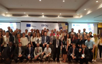 Presentation of the Euro-Mediterranean Cooperation Summer School at the kick-off meeting of the EBSOMED project, Tunis, June 28th 2018